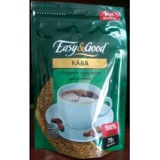 """Кофе """"Easy&Good"""" растворимый сублимированный 75г"""