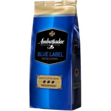 Кофе AMBASSADOR BLUE LABEL , зерно 1 кг